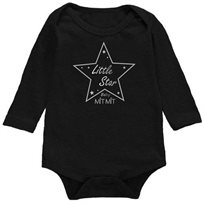 Babymitmit בגד גוף שחור כוכב