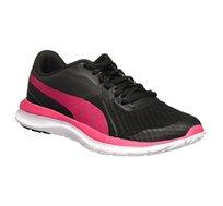 נעלי ריצה לנשים PUMA דגם - שחור ורוד