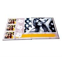 "Plana Album - אלבום בפתיחה שטוחה המודפס ע""ג נייר צילום בגודל 28X28 ס""מ"