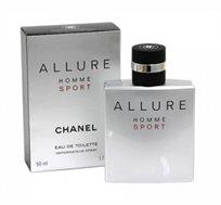 """בושם לגבר Allure Homme Sport א.ד.ט 50 מ""""ל Chanel"""