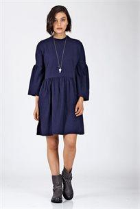 שמלה בייסיק שילוב מלמלה - CUBiCA