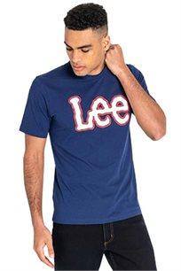 טי שרט בייסיק Lee לגברים בצבע כחול
