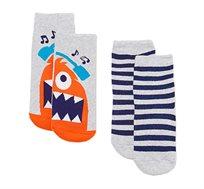 מארז 2 זוגות גרביים לילדים