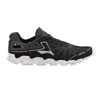 נעלי ריצה לגברים Li Ning Soft Shell Lightweight Running בצבע שחור