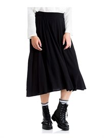 חצאית כפלים ארוכה בשני צבעים לבחירה