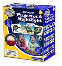 מנורת לילה ומקרן דינוזאורים