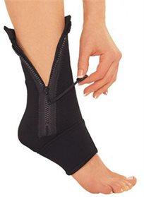 התמיכה הטובה ביותר! Ankle Genie - מגן קרסול ליציבות הרגל והקלת נפיחות, דלקות וכאב. מושלם למתאמנים