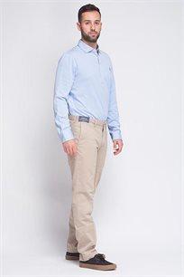 מכנסיים SLIM FIT בצבע בז' בהיר POLO RALPH LAUREN