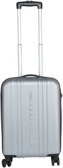 מזוודה קשיחה 20 איינץ בסגנון אורבני מהודר ואלגנטי BENETTON