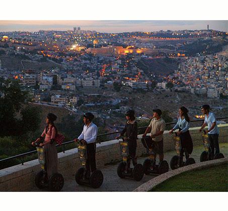 ירושלים של זהב! סיורי סגווי חוויתי כולל תה חם ומפנק, בירושלים הקסומה, ספיישל ירושלמי בעיר דוד