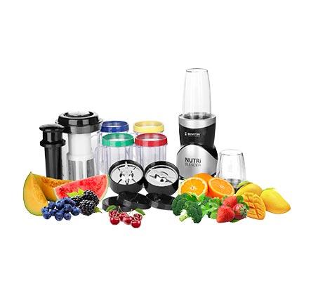 מעבד מזון Nutri Blender עם 21 חלקים