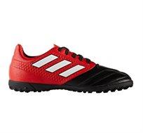 נעלי כדורגל לילדים ADIDAS BOYSACE 17.4 TF JR BA9246 - אדום/שחור/לבן