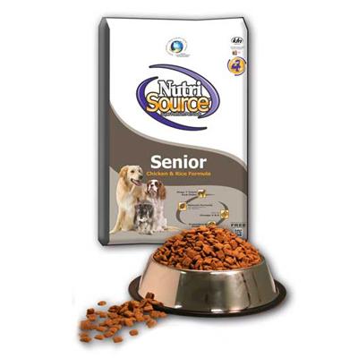 מזון לכלב זקן נוטרי סורס 13.6 ק''ג Nutri Source