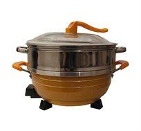 סיר בישול ואידוי רב תכליתי בנפח 6 ליטר דגם BEN-101