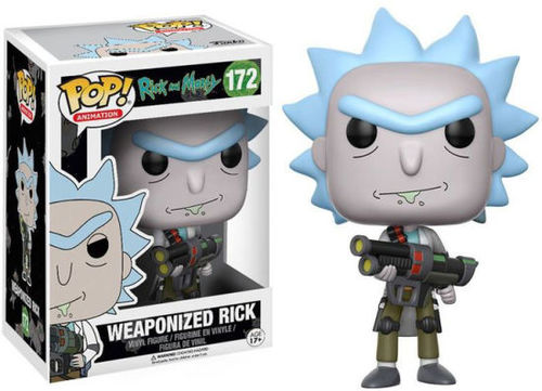 Funko Pop - Weaponized Rick (Rick And Morty) 172 בובת פופ