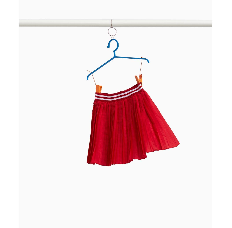 חצאית קפלים OVS לילדות - אדום