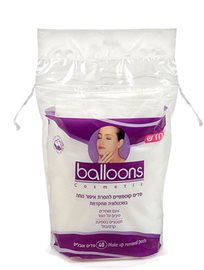 Balloons Oval Pads Removing Makeup