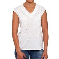 חולצת סילבר לבנה