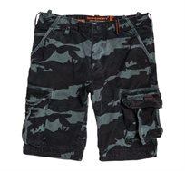 מכנס ברמודה Superdry Core Cargo Lite לגברים בסגנון צבאי