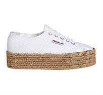 נעלי סניקרס לנשים SUPERGA דגם 2790 לבנות