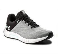 נעלי ספורט לגברים Under Armour Men's Micro G Pursuit Running Shoes בצבע אפור