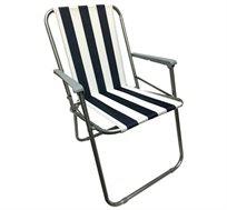 2 כיסאות מתקפלים וקלים לנשיאה המתאימים לשימוש בים, בבריכה ובקמפינג