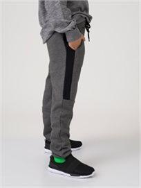 מכנסי פוטר סטריפ שחור