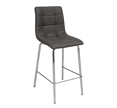 כסא בר למטבח בריפוד סקאי דגם דניאל במבחר גוונים לבחירה