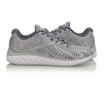 נעלי ריצה מקצועיות לנשים Li Ning Cloud 4 Flame Cushion Running בצבעי אפור/לבן