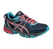 נעלי ספורט לאישה ג'ל סונומה 2 - כחול/תכלת/אדום