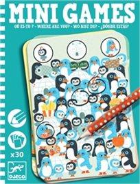 מיני גיימס - איפה אפי פינגווינים - Djeco