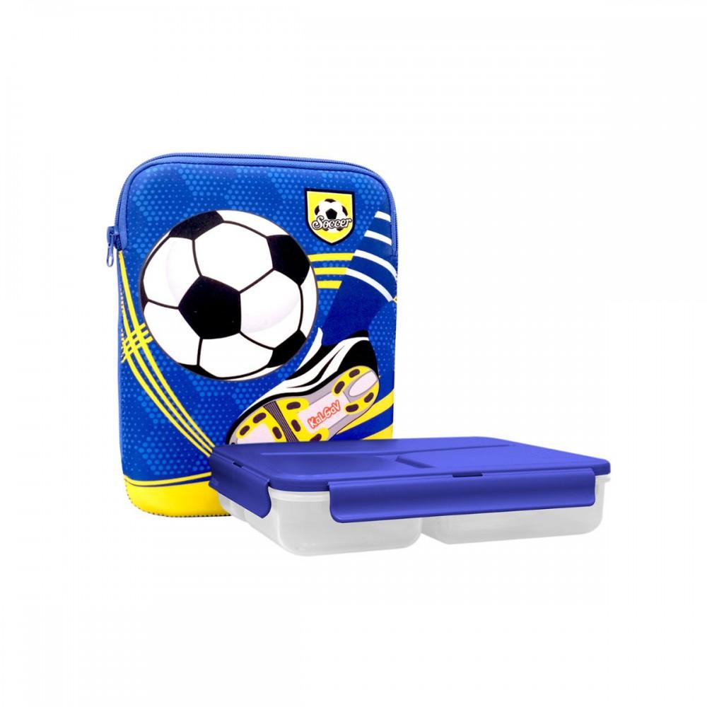 סט קופסאות אוכל Soccer