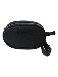 תיק מותג גס שחור לנשים - Skye Crossbody Belt Bag