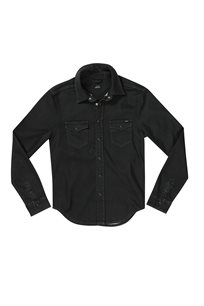 PEPE JEANS גברים // DENIM BLACK SHIRT JEPSON