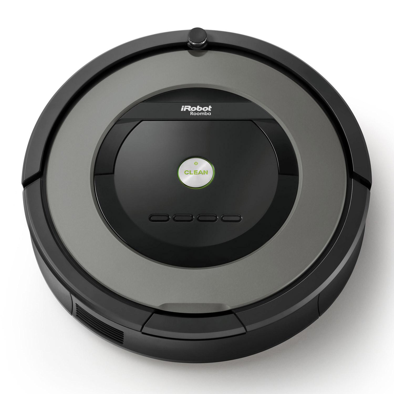 שואב אבק IROBOT Roomba הדגם המוביל 865 עם תחנת עגינה משופרת וסוללת X-LIFE שנתיים אחריות יבואן רשמי - משלוח חינם