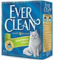 4+1 סופרחול לחתול מתגבש אברקלין ירוק ריחני 10 ליטר ever clean