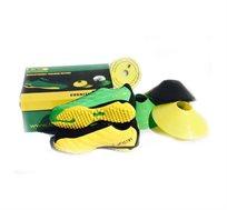 ערכת כדורגל הכוללת נעלי כדורגל\קטרגל + דיסק לימוד תרגילים + 6 כיפות אימון - משלוח חינם