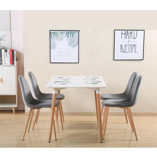 פינת אוכל קטנה הכוללת שולחן דגם גולן ו- 4 כסאות דגם לפיד HOME DECOR - תמונה 2