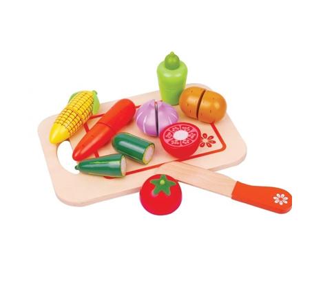 משחק לילדים קרש חיתוך ירקות מעץ BGIFTS