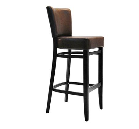 כסא בר למטבח מעץ כולל ריפוד מושב דגם דב