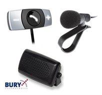 דיבורית בלוטוס קבועה לרכב דגם BURY 9040 כולל התקנה חינם בסניפי במוטורולה
