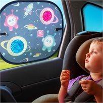 צלון בועות אור לרכב עם מצמדי ואקום