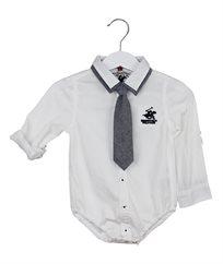 בגד גוף אריג + עניבה