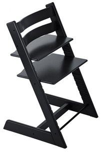 כיסא אוכל רב שלבי טריפ טראפ Tripp Trapp - שחור