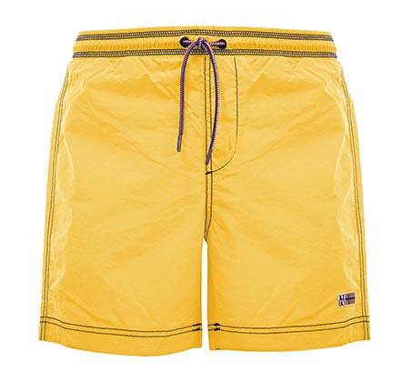 שורט שחייה לגבר - צהוב