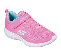 נעלי ספורט SKECHERS לילדות בצבע ורוד