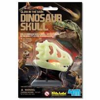 גולגולת דינוזאור זוהרת בחושך - 4M