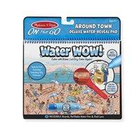 חוברת טוש המים מהודרת - ברחבי העיר מבית מליסה