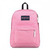 תיק גב Jansport Superbreak Prism Pink Icons