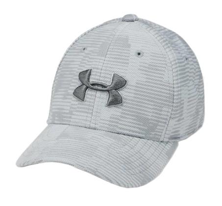 כובע מצחיה UNDER ARMOUR לגברים - אפור בהיר
